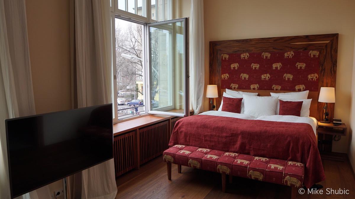 Room at Orania Hotel in Berlin by MikesRoadTrip.com