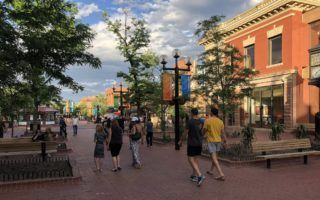 If you only have 24 hours in Boulder Colorado, be sure to check out Pearl Street in Boulder