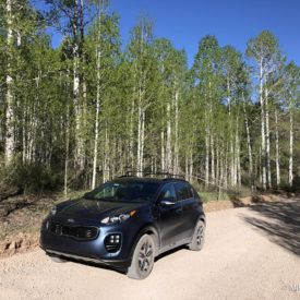 Automotive road trip review of the 2018 Kia Sportage