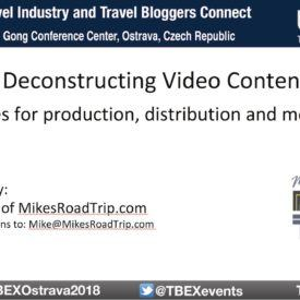 Deconstructing Travel Video Content – A TBEX Ostrava Presentation