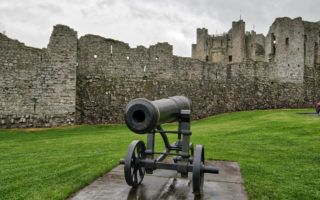 Trimm Castle in County Meath Ireland by MikesRoadTrip.com