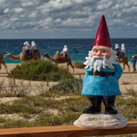 Won a Travelocity Roaming Gnome photo contest