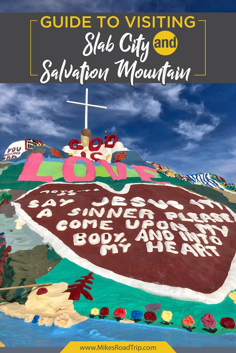 Salvation Mountain at Slab City California
